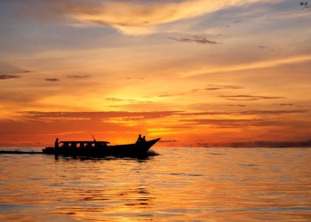 Togat Boats at sunset
