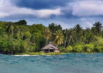 Togat Nusa Retreat from Sea